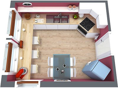 kitchen-floor-plan